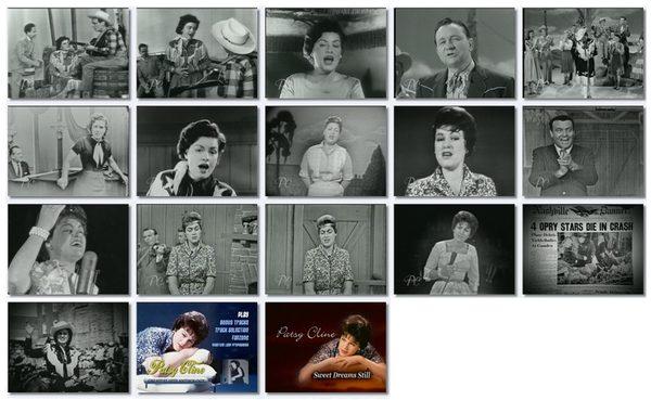 Patsy Cline, videos, screenshots