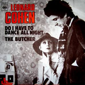 Leonard Cohen single Do I Have To Dance All Night