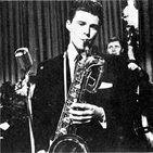 Ricky Nelson plays sax