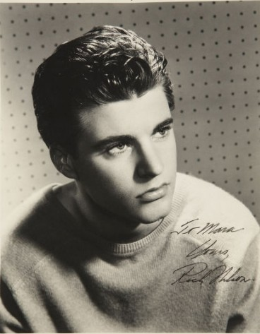 Ricky Nelson, young