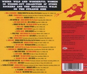 back cover, Good Girls Gone Bad Wild Weird & Wanted