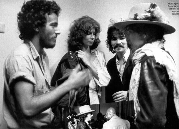 Bob Dylan, Bruce Springsteen