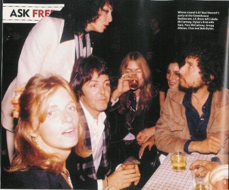Bob Dylan, Paul McCartney, Linda Mccartney, Cher