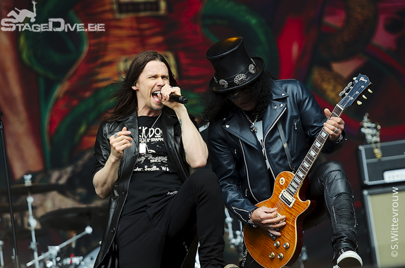 Graspop 2012, Slash feat. Myles Kenndy and The Conspirators