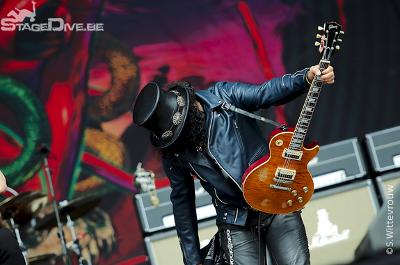 Slash, Graspop 2012