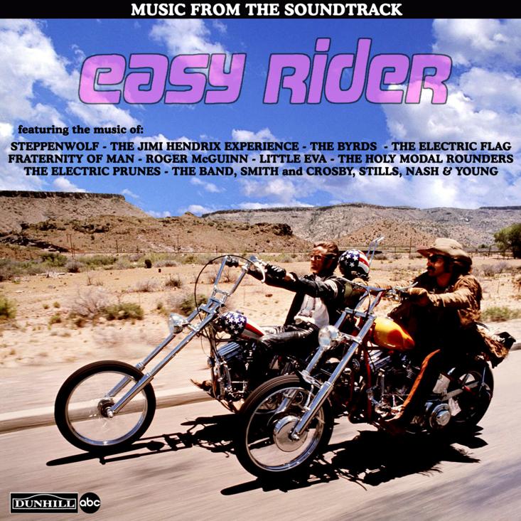 Easy Rider Soundtrack 1969, саундтрек фильма Беспечный Ездок