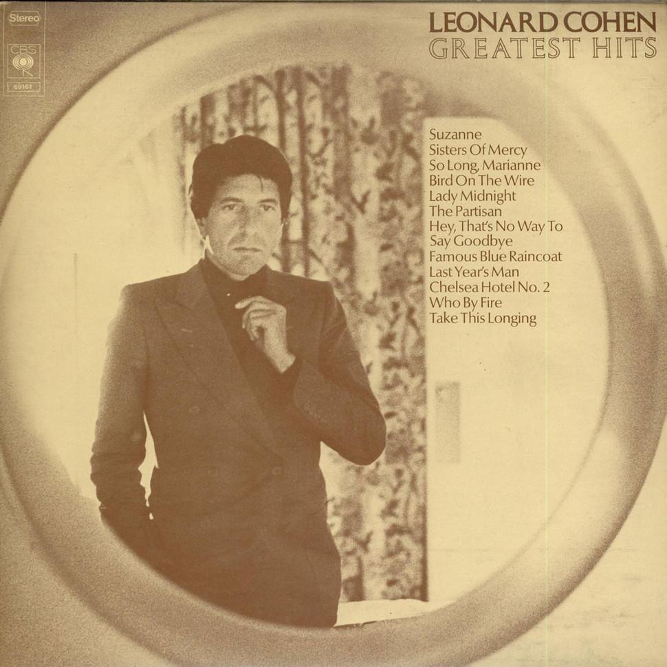 Leonard Cohen, Greatest Hits, 1975, лучшие хиты