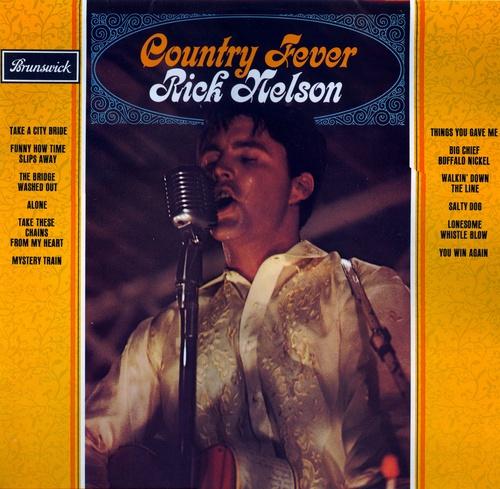 Ricky Rick Nelson, Рики Нельсон, Country Fever, кантри лихорадка