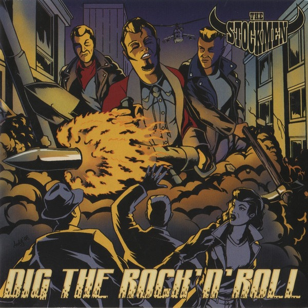 The Stockmen, Dig The Rock-n-Roll, rockabilly