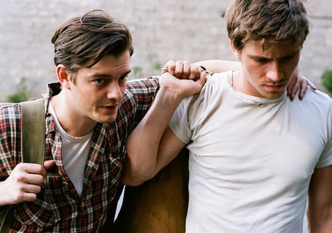 On The Road 2012, Sam Riley, Garrett Hedlund, Сэл Парадайз, Дин Мориарти