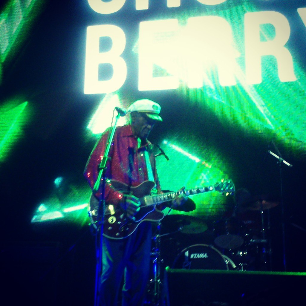 Chuck Berry, Izvestia Hall
