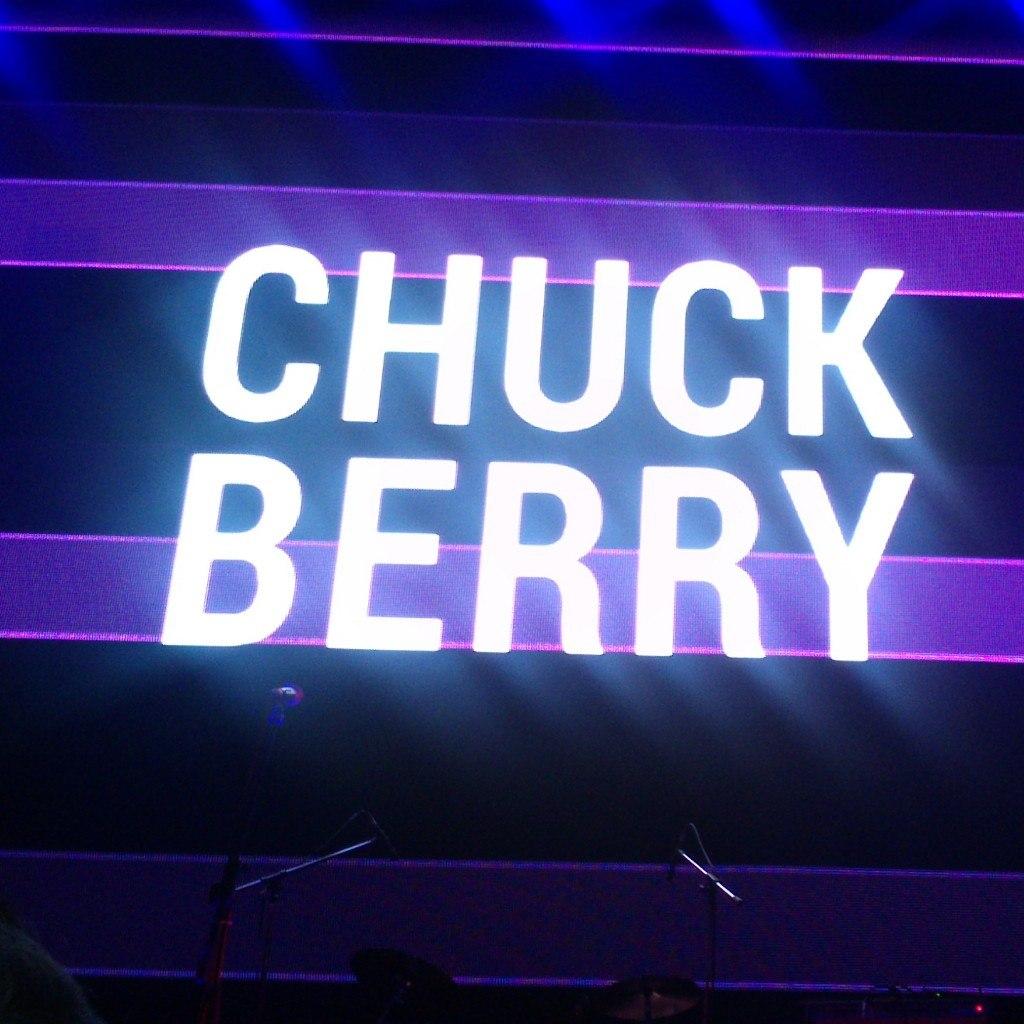 Chuck Berry, задник