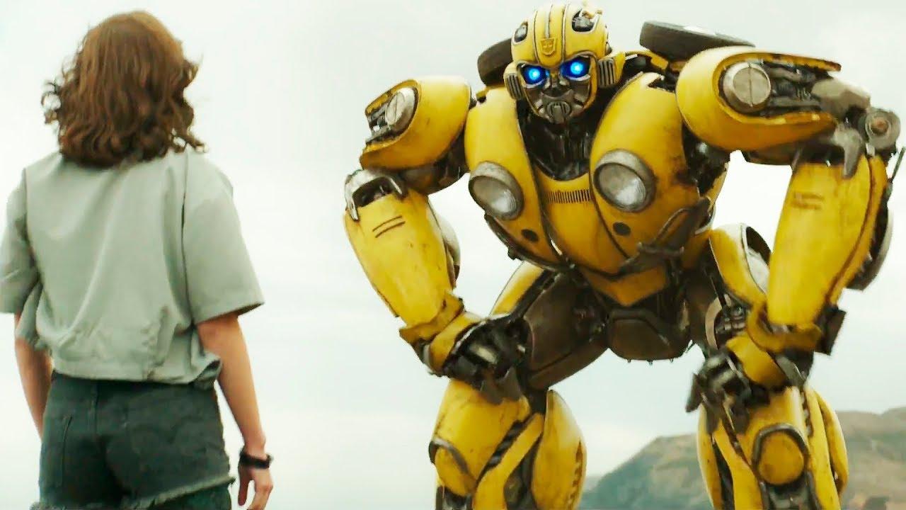 кадр из фильма Бамблби, Bumblebee, 2018