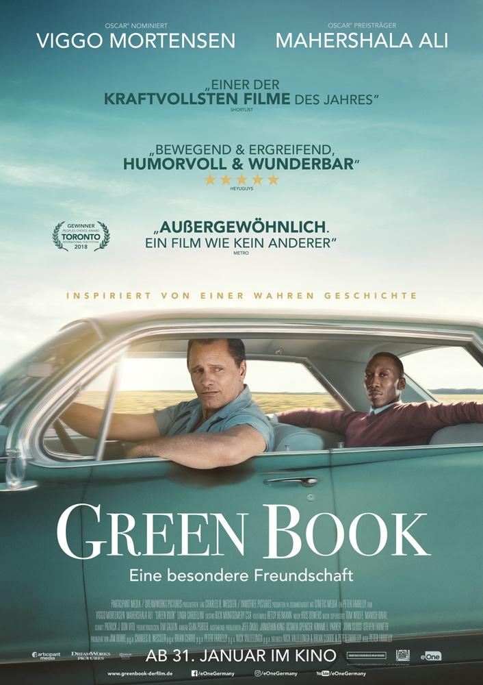 немецкий постер Green Book