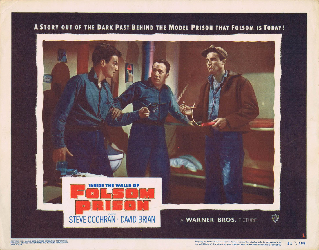 Постер к фильму Inside the Walls of Folsom Prison, 1951
