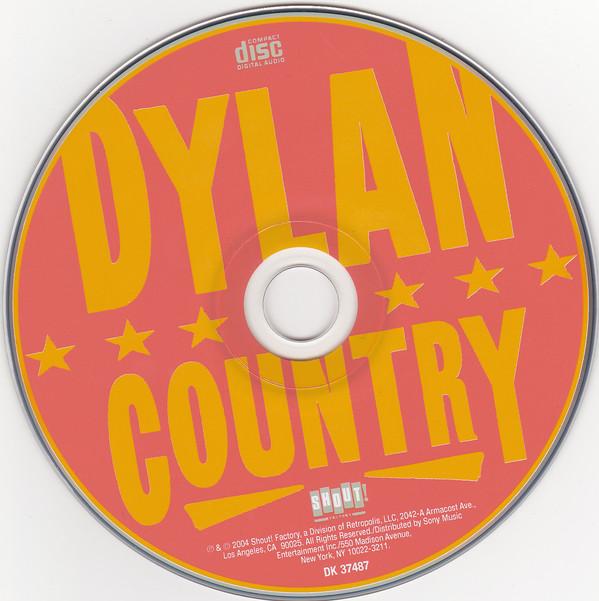 Дилан в кантри, CD